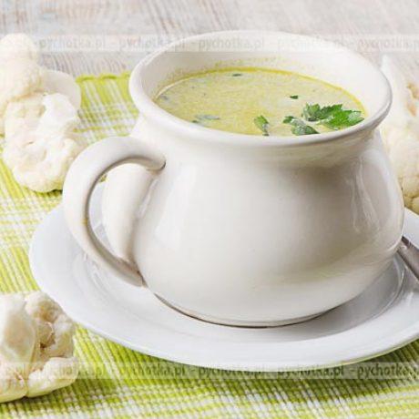 Zupa-krem z kalafiorów