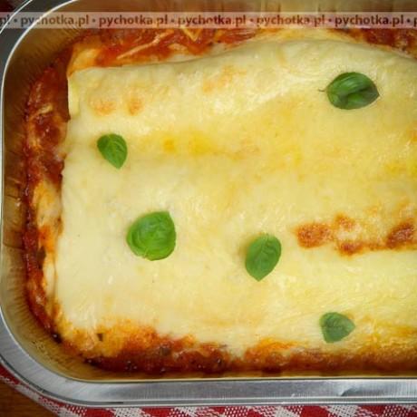 Lasagne z grzybami po włosku