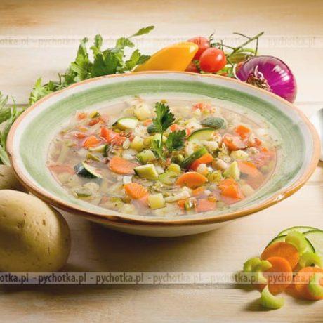 Zawiesista zupa jarzynowa