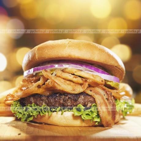 Amerykański hamburger cajun