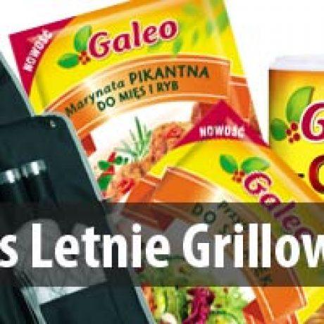 Zwycięzcy konkursu  grillowego Galeo