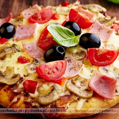 Pizza z pieczarkami Ilony
