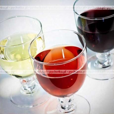 Białe wino gronowe