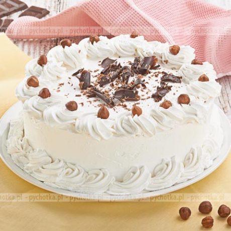 Tort biszkoptowo-bezowy