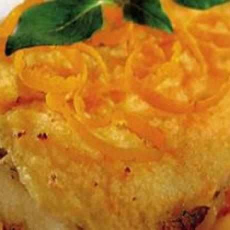 Filet z sandacza w pomarańczach