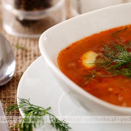 Zupa pomidorowa na ostro