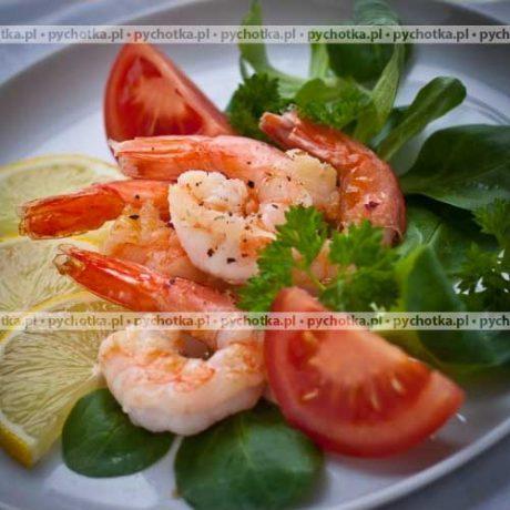 Krewetki w sosie pomidorowym – Łucja