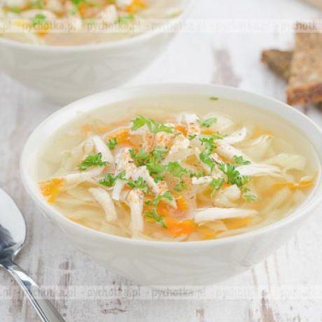 Zupa z kapusty białej i kiszonej