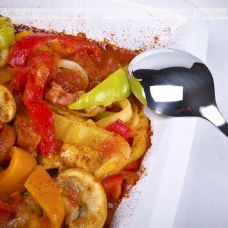 Ryż z curry i warzywami