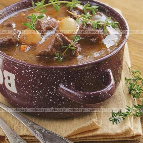 Zupa gulaszowa na wołowinie