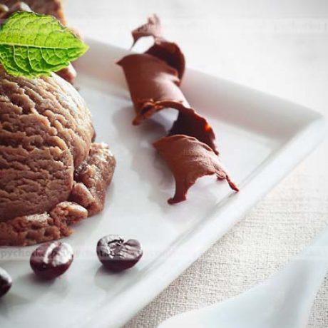 Lody z kawą i czekoladą