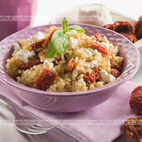 Zapiekany ryż ze śliwkami