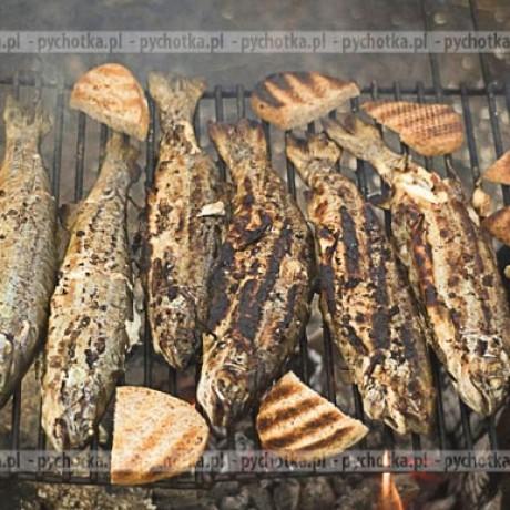 Makrela w słodko ostrej marynacie, grillowana