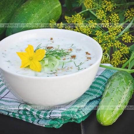 Ogórkowa zupa na upały-Iwony