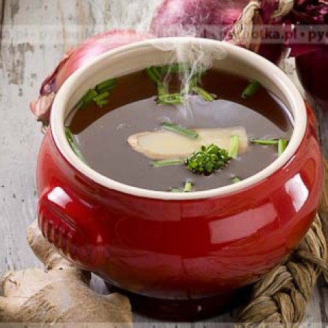Zupa cebulowa z imbirem