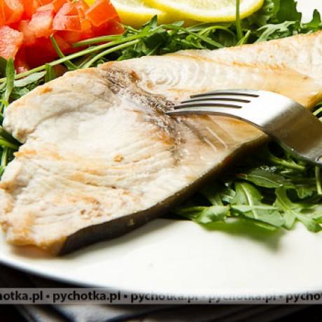 Stek z halibuta wanilią pachnący