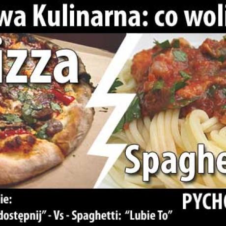 Bitwa: Pizza czy Spaghetti
