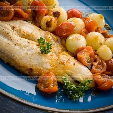 Tradycyjna ryba po grecku