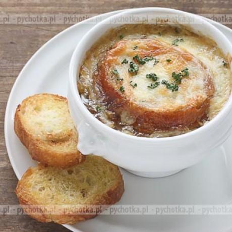 Zupa cebulowa z brandy