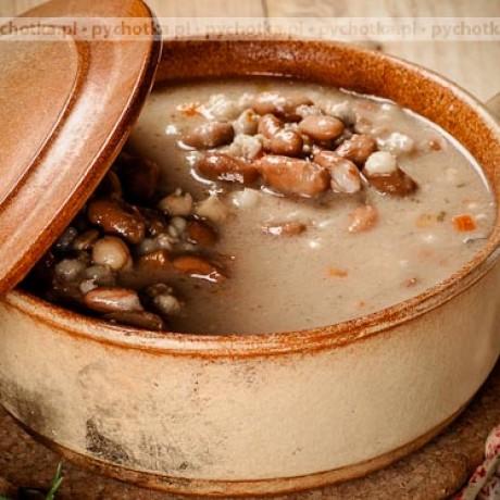 Zupa fasolowa kapitana