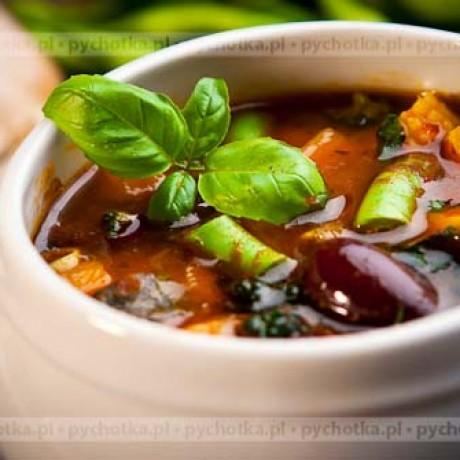 Zupa z czerwonej fasoli Oli