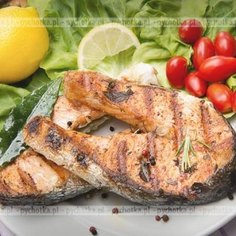 Złocista ryba z grilla