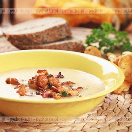 Zupa z kurek Krystyny