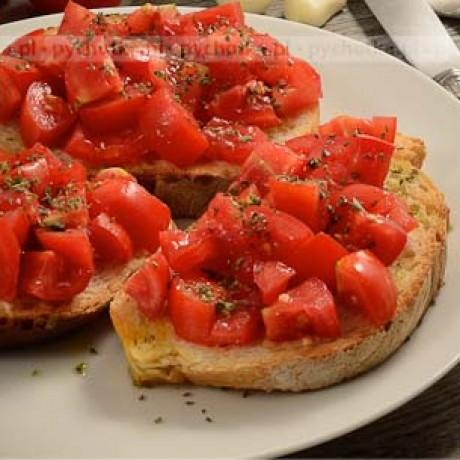 Bruschetta z pomidorem i bazylią Izy