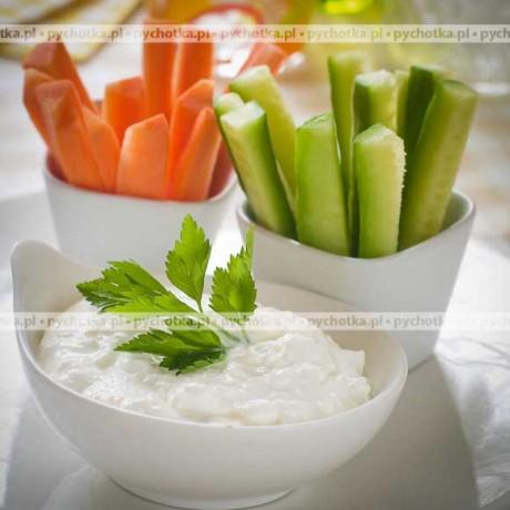 Śmietankowy dip do warzywnych przekąsek Kasi