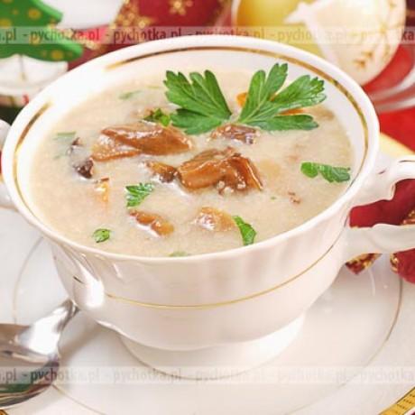 Wigilijna zupa grzybowa Patryka