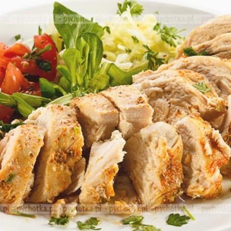 Pieczona pierś z kurczaka Bartłomieja