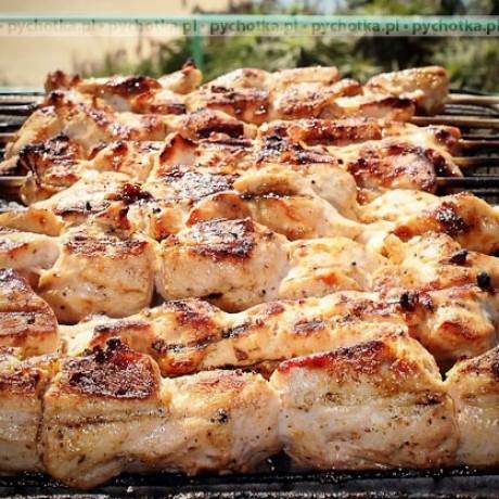 Szaszłyki z piersi kurczaka Marleny