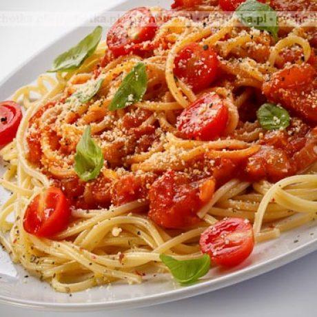 Spaghetti przepisu Oliwii