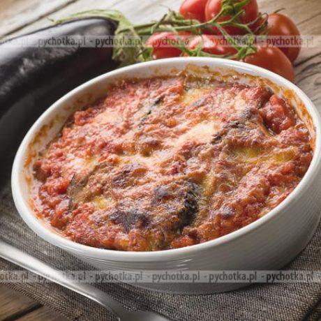 Bakłażan zapiekany w sosie pomidorowym