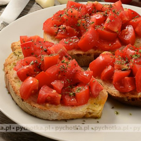 Bruschetta z pomidorami Julki