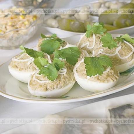Faszerowane jajka Basi