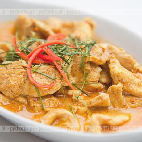 Pierś z kurczaka w sosie curry Alicji