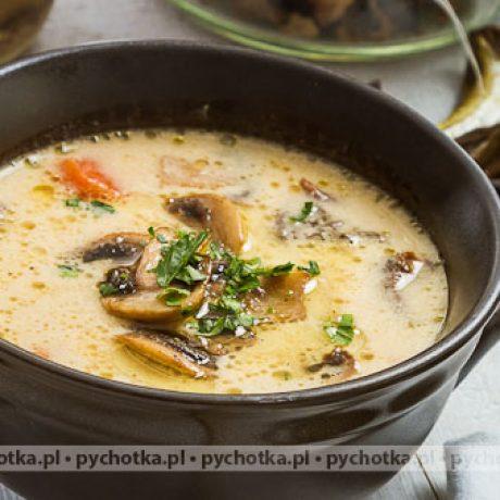 Zupa pieczarkowa Renaty