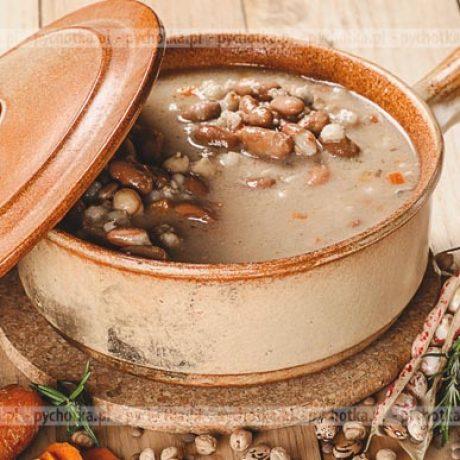Zupa z fasoli Sylwii