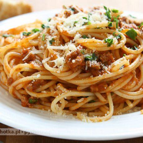 Spaghetti przepisu Malwiny