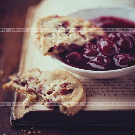 Ciasteczka z wiśniami Malwiny