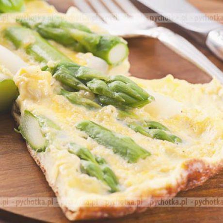 Omlet ze szparagami Basi
