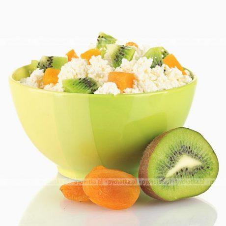Twarożek z owocami