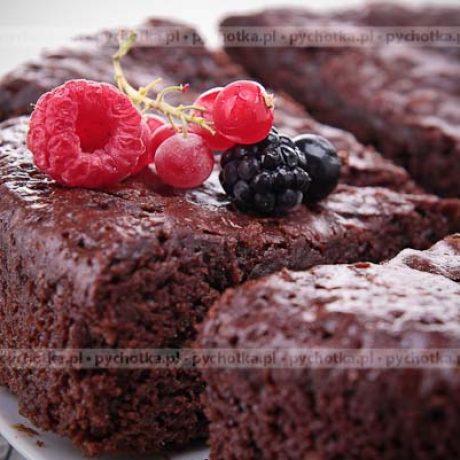 Mocno czekoladowe ciasto Beaty
