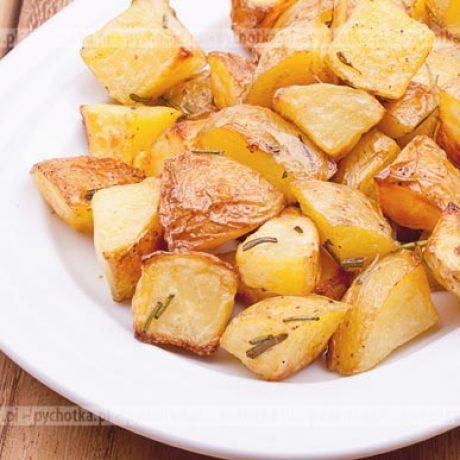 Pieczone ziemniaki z tymiankiem i rozmarynem