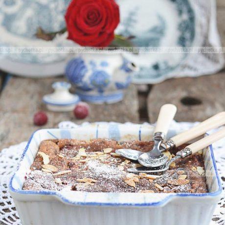 Czekoladowe ciasto z migdałami Ani