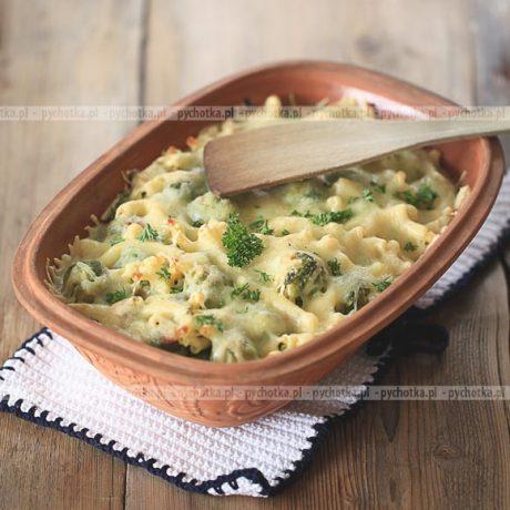 Brokuł zapiekany z serem Celiny