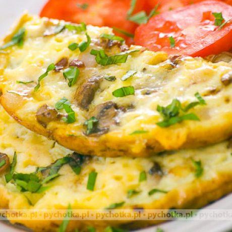 Omlet z pieczarkami Reni