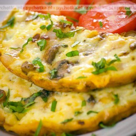 Omlet z pieczarkami Laury